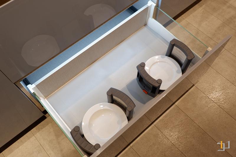 Kệ chén đĩa tủ bếp acrylic