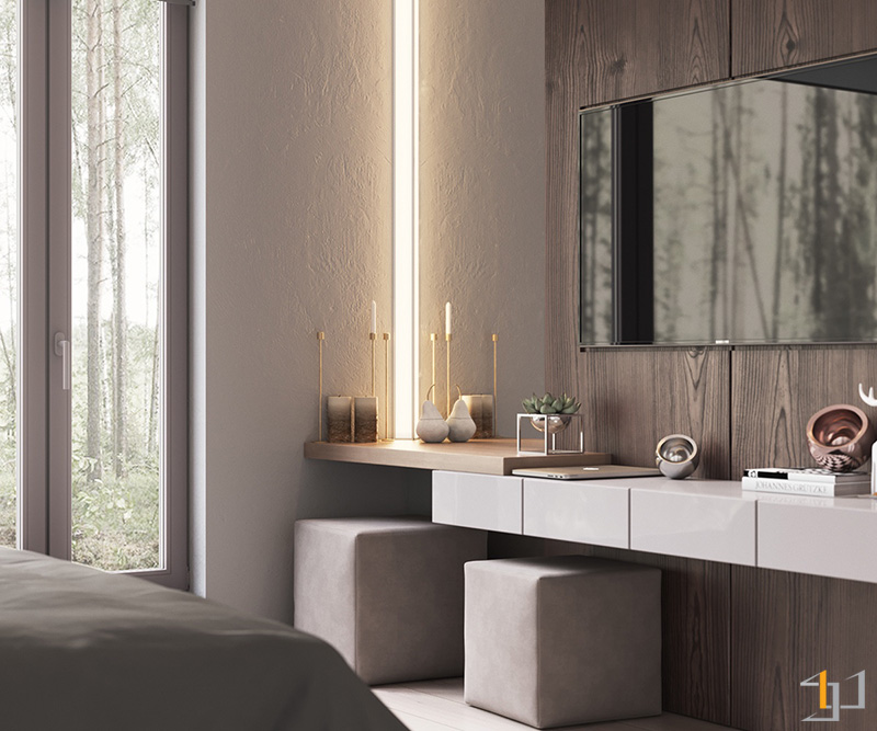 LED-light-panel-contemporary-bedroom