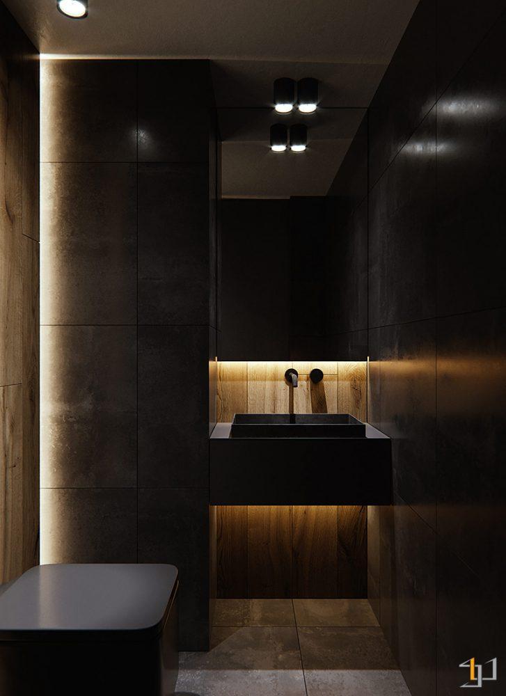 black-bathroom-ideas