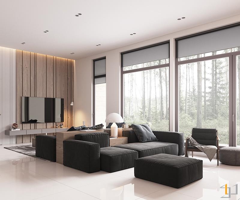 black-block-furniture-minimalist-living-room
