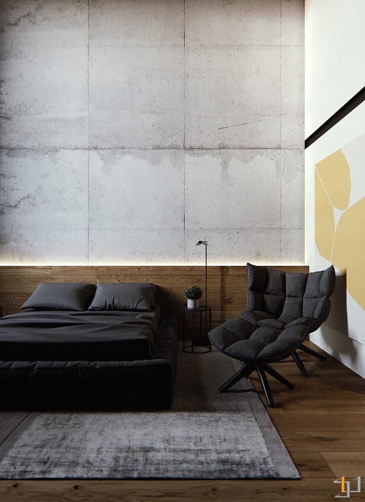 black-lounge-chair