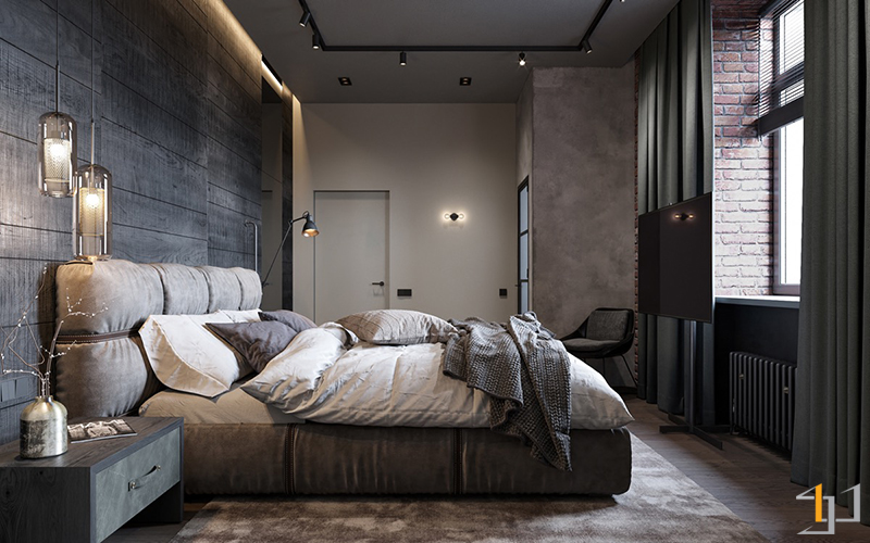 cushioned-bedframe