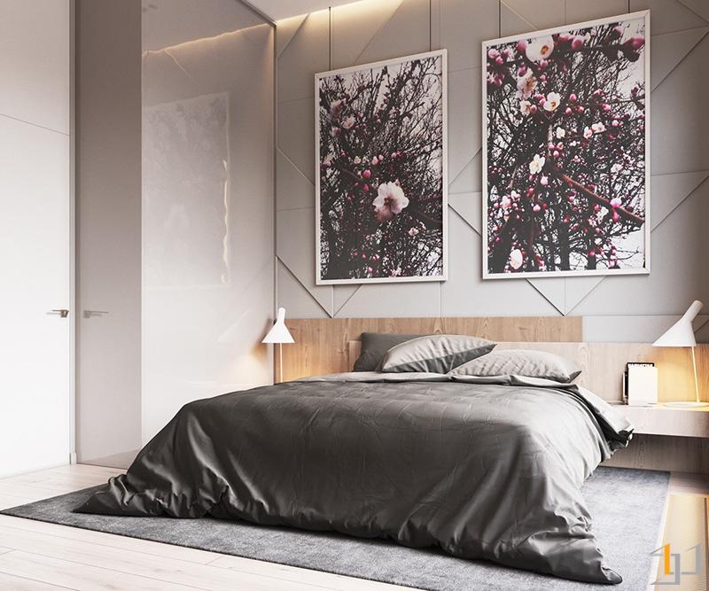 grey-velvet-bedding-contemporary-bedroom