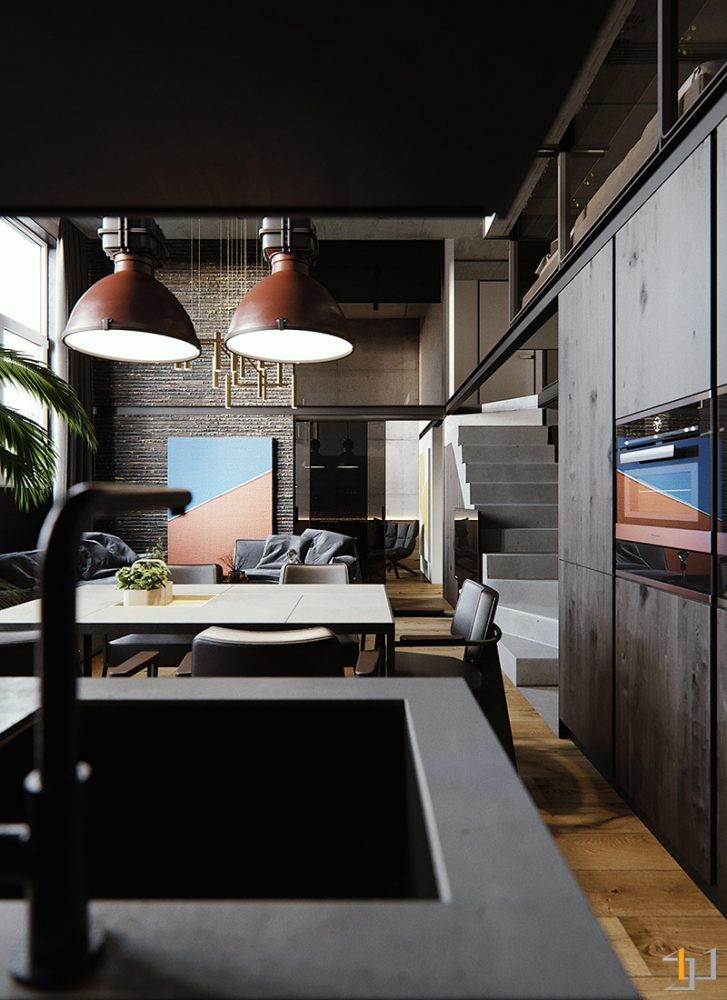 industrial-style-interior