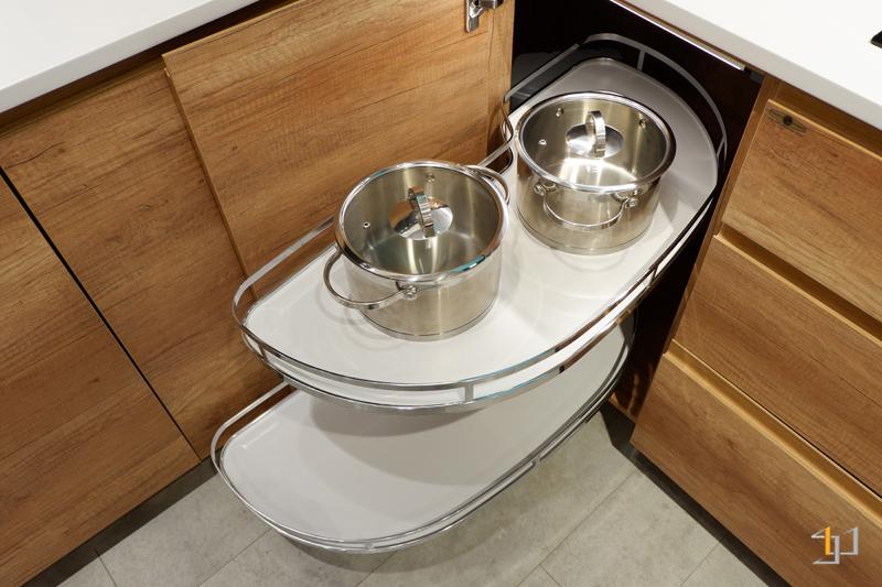 Măm xoay – kệ góc liên hoàn – phụ kiện nhà bếp thông minh TB57