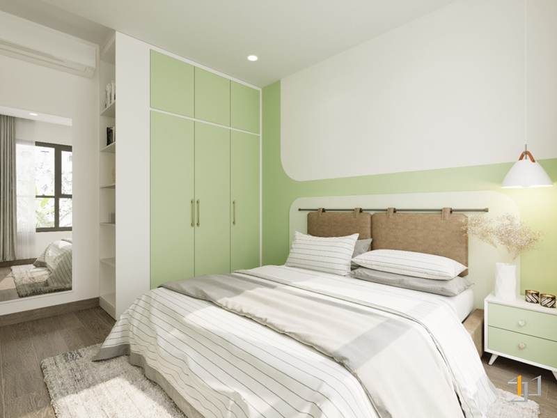 Thiết kế tủ âm tường hiện đại cho nhà chung cư