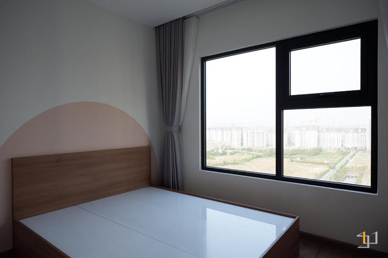 Hoàn thiện thi công nội thất giường phòng ngủ nhỏ