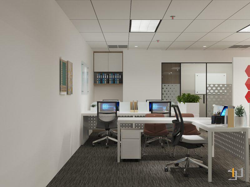 Thiết kế bàn làm việc cấp quản lý