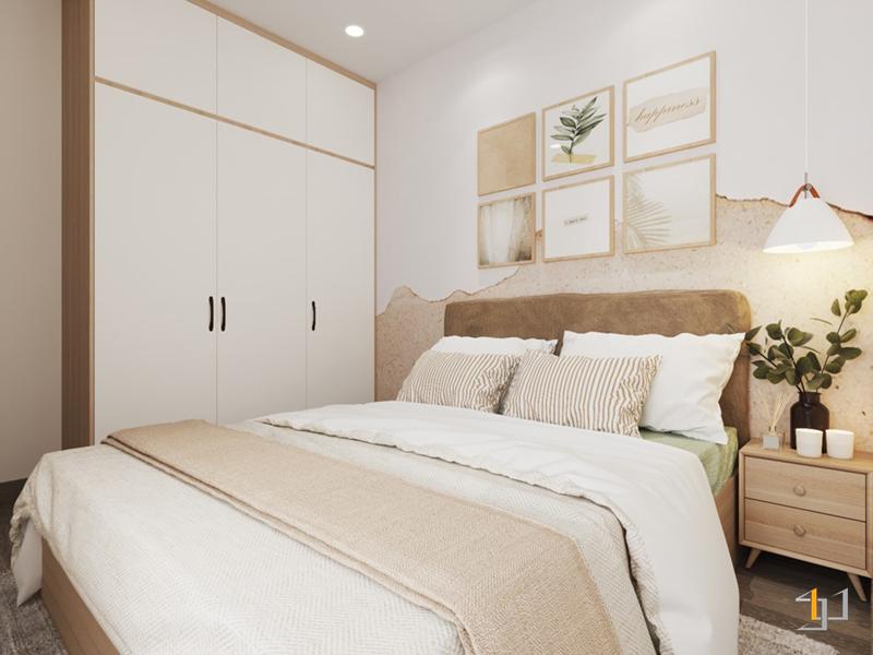 Tủ áo kịch trần cho phòng ngủ