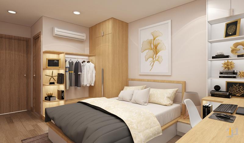 Các hệ tủ kệ cho phòng ngủ