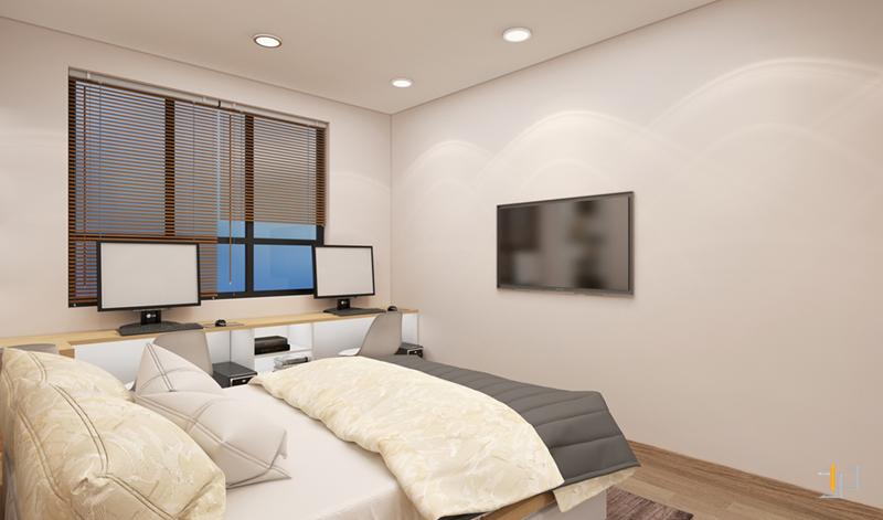 Phòng ngủ và làm việc