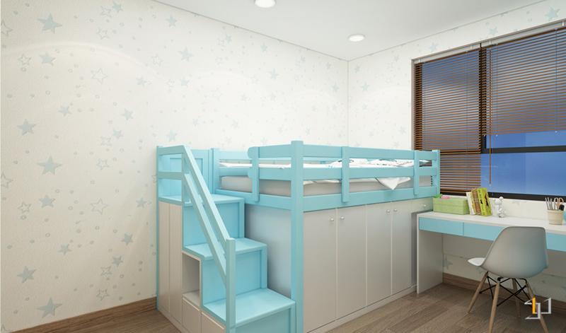 Thiết kế phòng bé