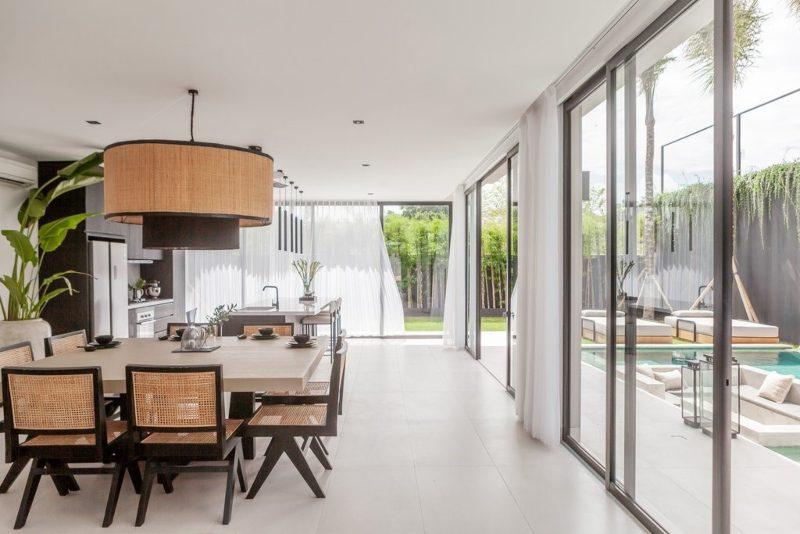 Thiết kế nội thất không gian xanh cho biệt thự