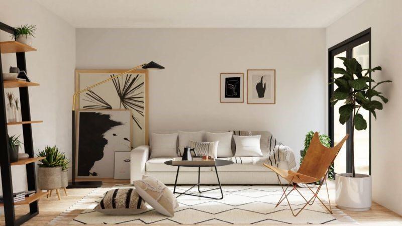 Thiết kế nội thất chung cư phong cách Eco