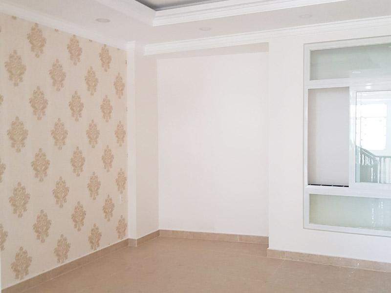 Góc bố trí kệ trang trí âm tường