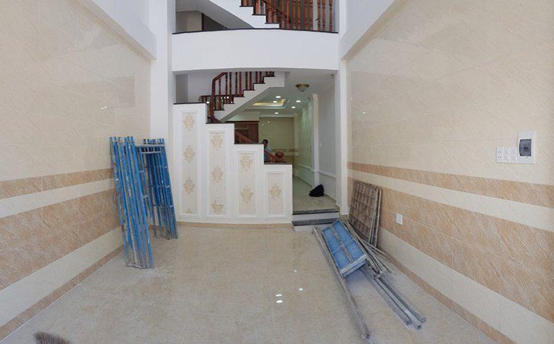 Nội thất phòng khách cũ trước khi thi công