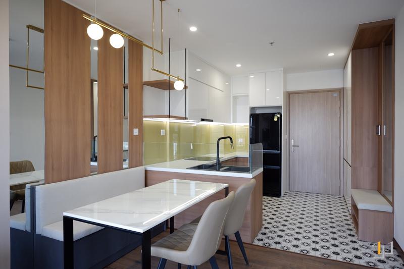 Thi công nội thất hoàn thiện phòng ăn và trang trí phòng ăn