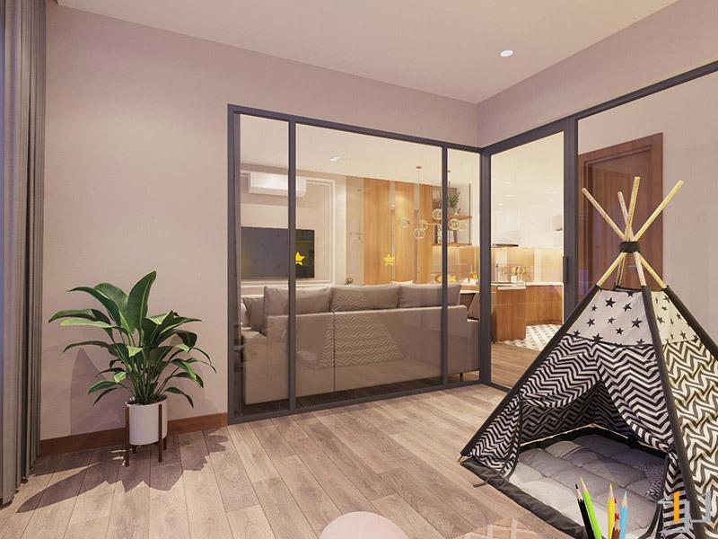 Thiết kế thi công nội thất phòng sinh hoạt cho trẻ