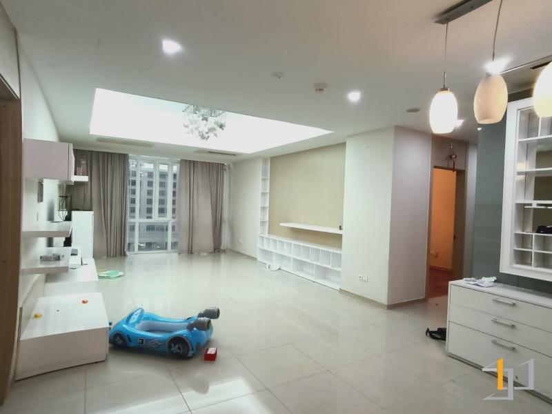 Hiện trạng phòng khách căn hộ 3PN Imperia An Phú
