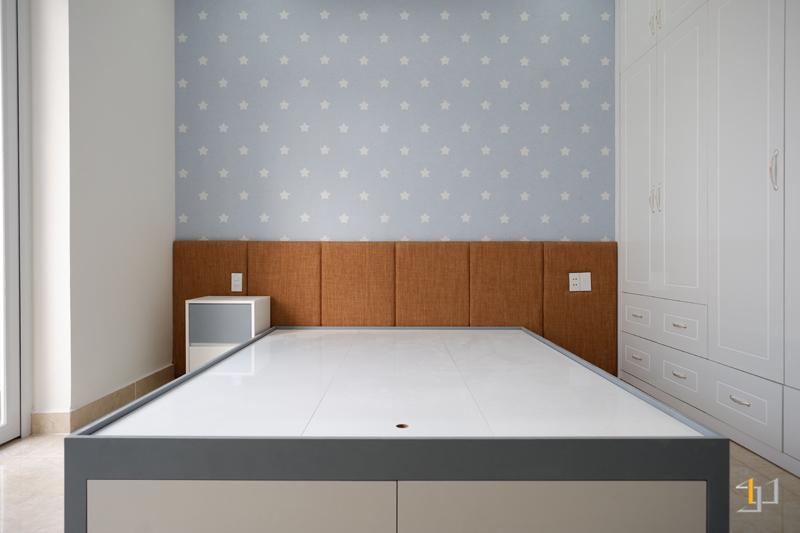 Thi công nội thất giấy dán tường