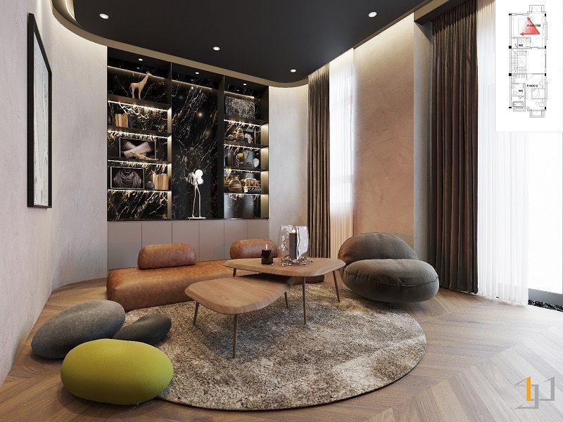 trang trí nội thất dành cho biệt thự