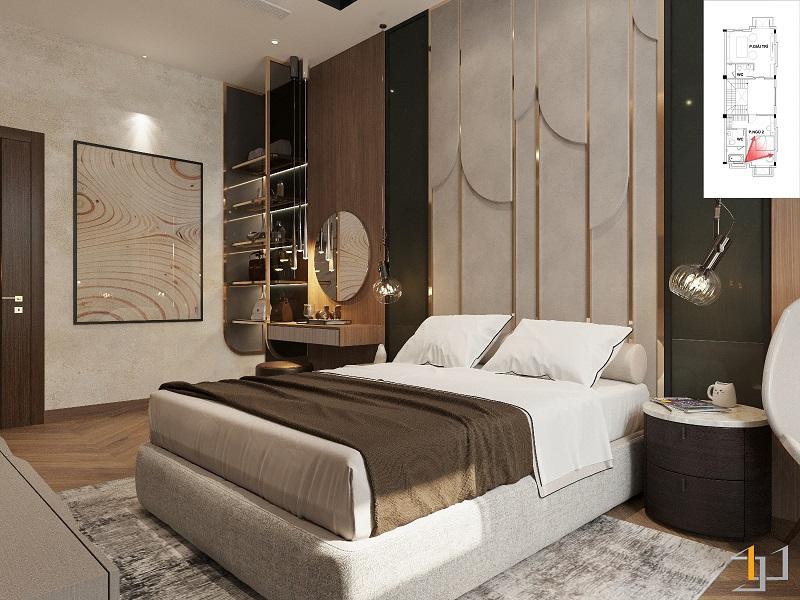 nội thất phòng ngủ biệt thự đẹp