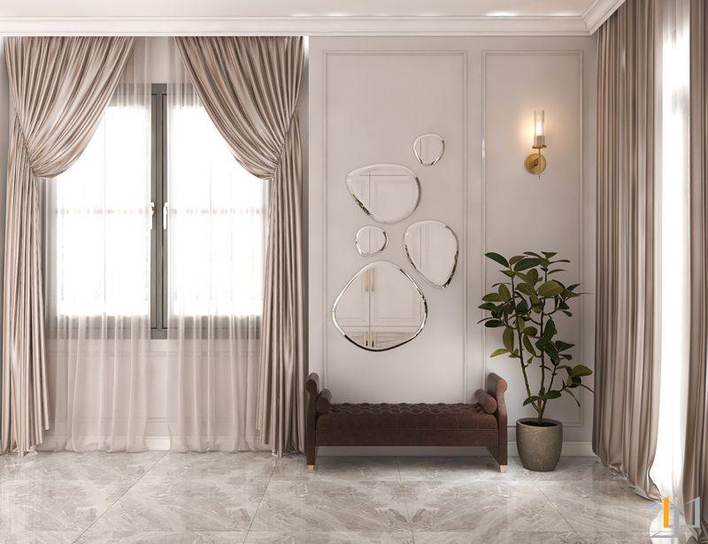 ứng dụng nguồn ánh sáng khi thiết kế nội thất biệt thự