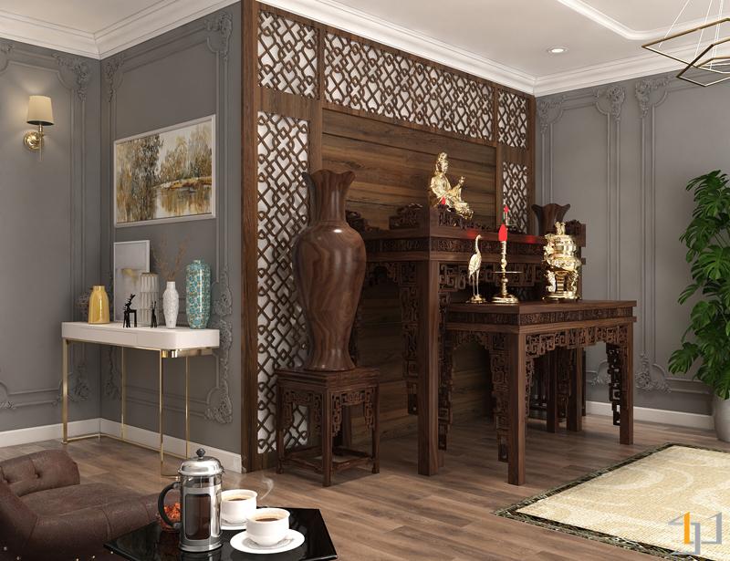 phong cách thiết kế nội thất tân cổ điển dành cho biệt thự