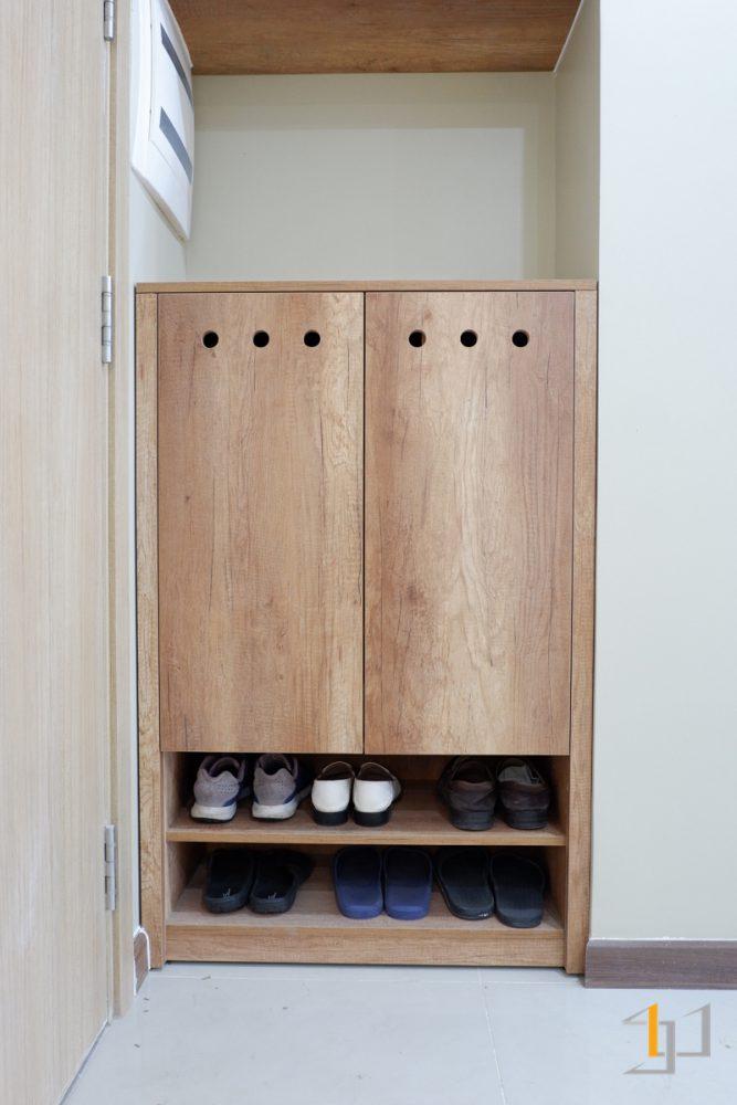 Tủ giày gỗ công nghiệp đẹp