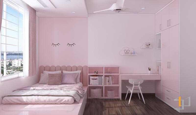 Phòng ngủ bé gái đẹp