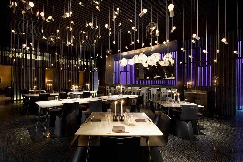 Thiết kế nội thất nhà hàng chuyên nghiệp phong cách hiện đại lịch lãm