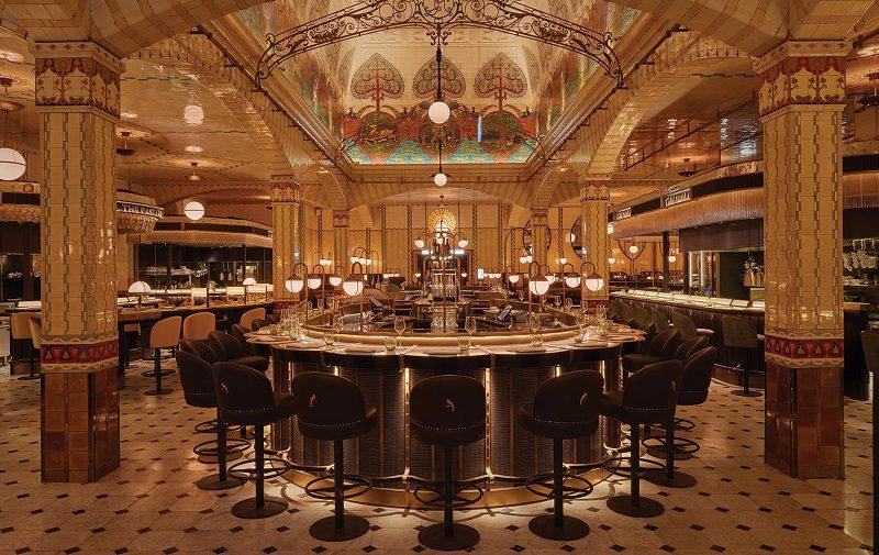 Thiết kế nội thất nhà hàng chuyên nghiệp kiểu cổ điển sang trọng đẳng cấp