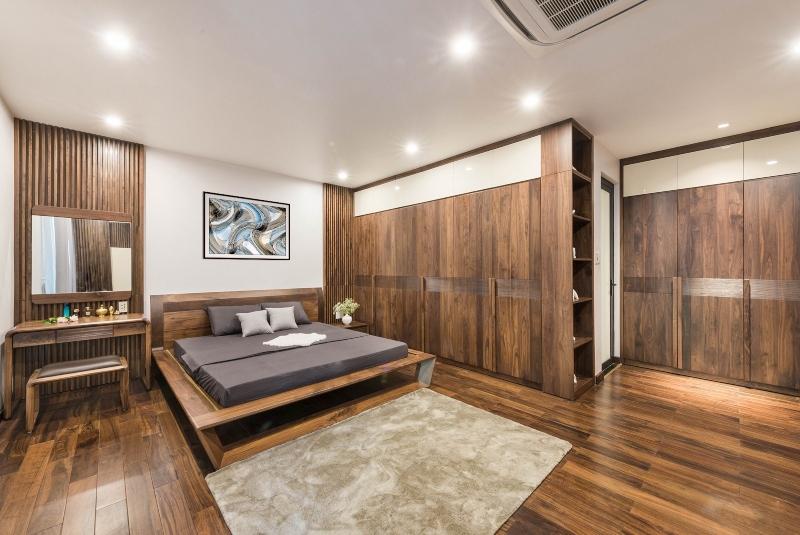 Thiết kế nội thất phòng ngủ Master đẹp