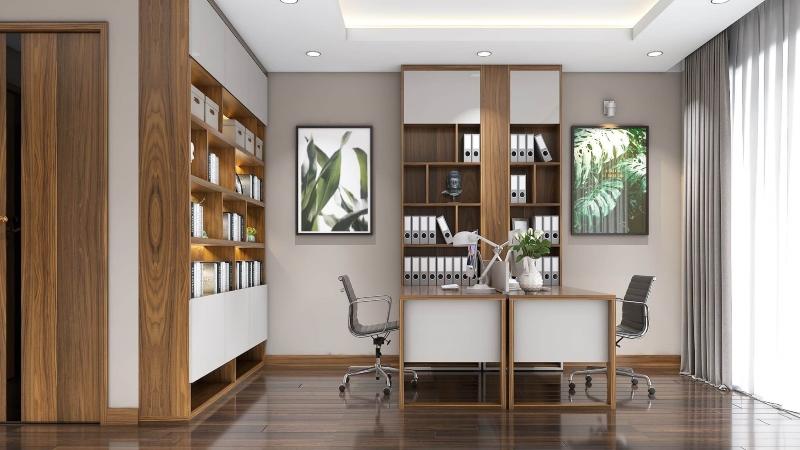 Thiết kế nội thất phòng làm việc