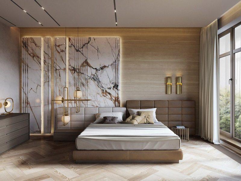 Thiết kế nội thất phòng ngủ nhà liền kề