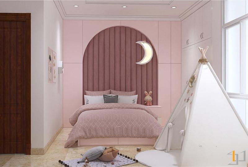 Thiết kế nội thất phòng con gái