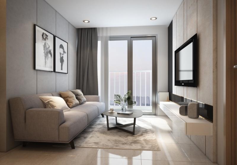 Thiết kế nội thất nhà nhỏ phong cách đương đại