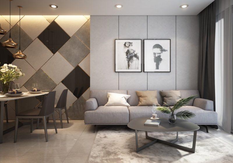 Tranh tường trang trí phòng khách độc đáo