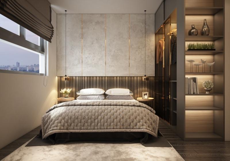 Phòng ngủ phong cách đương đại sang trọng