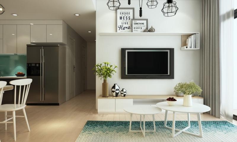 Bố trí nội thất nhà nhỏ theo cấu trúc không gian mở