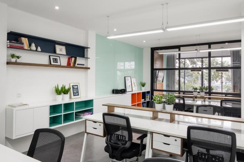 Lựa chọn màu sắc nhẹ nhàng cho căn hộ Officetel