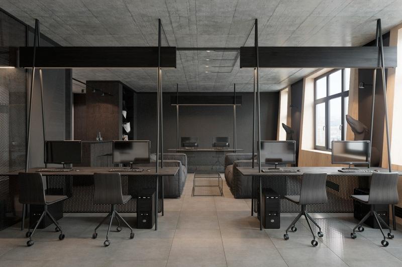 Văn phòng Offictel được thiết kế theo phong cách đương đại sang trọng