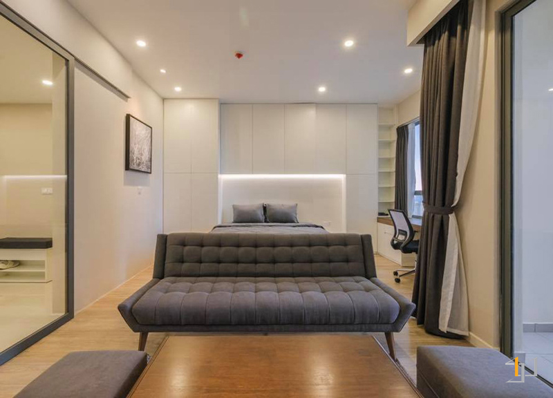 Thi công nội thất phòng ngủ chung cư đẹp