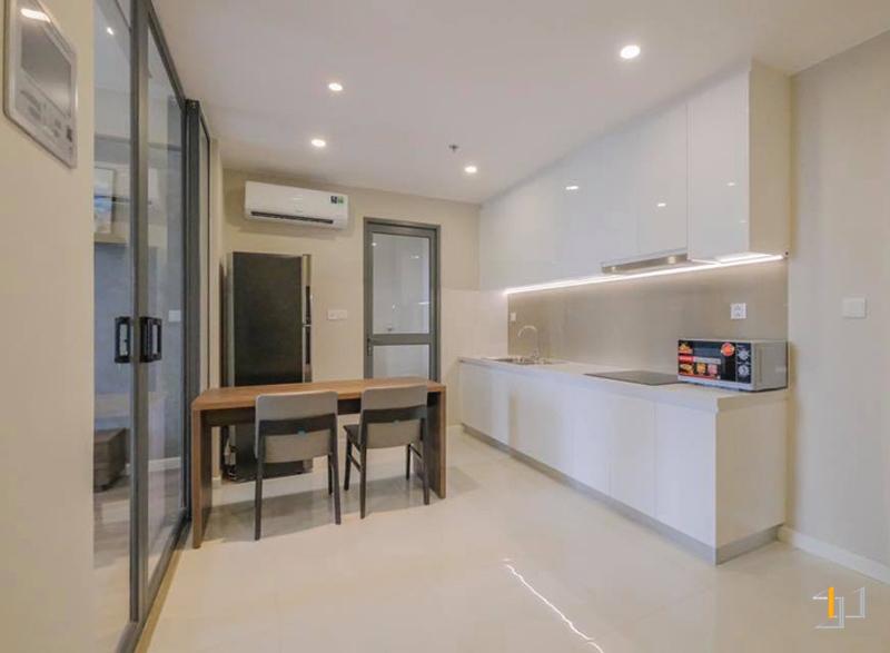 Thi công nội thất tủ bếp đẹp chung cư