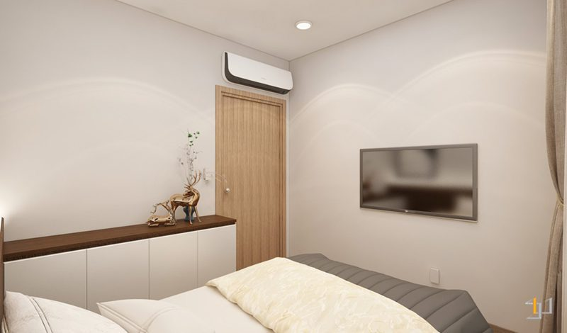 Ánh sáng bên trong phòng ngủ nhỏ