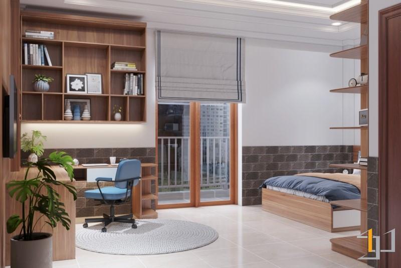 Thiết kế cửa sổ cho phòng ngủ nhà phố