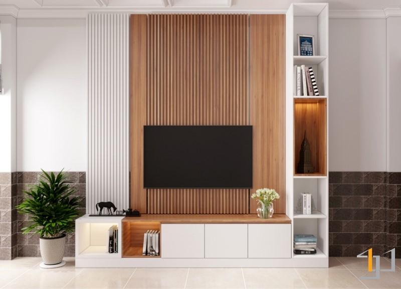 Thiết kế nội thất phòng khách nhà phố đẹp