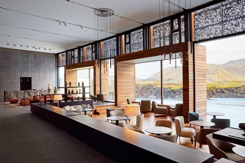 Thiết kế nội thất quán cà phê trong khu resort