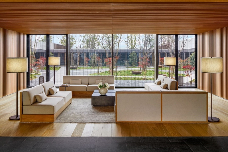 Thiết kế phòng tiếp khách thông thoáng và rộng rãi