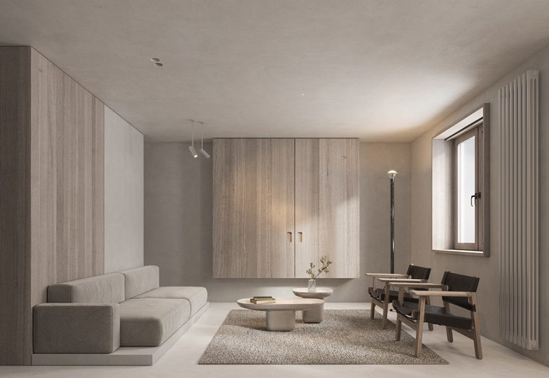 Tính tiện dụng của nội thất trong không gian tối giản